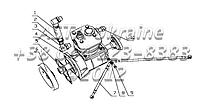 Компрессор пневматического тормоза в сборе 340-3509000, фото 1