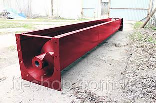 Шнековый транспортер в лотке (желобе) 150 мм, 5 м., фото 3