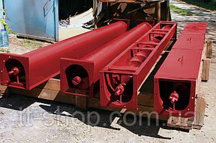 Шнековый транспортер в лотке (желобе) 250 мм, 6 м., фото 3