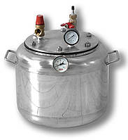 Автоклав бытовой на 8 банок, нержавеющая сталь (побутовий автоклав з нержавіючої сталі)