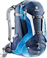 Рюкзак для поездок на горном велосипеде DEUTER TRANS ALPINE 30, 32223 3980 синий