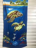 Пляжное детское полотенце с рисунком Турция Merzuka пляж 75 х 150