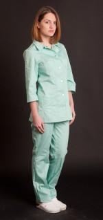 Медицинская женская куртка Жаклин р.46 (пл.тк.210)