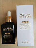 Восстанавливающая ночная сыворотка на фитостволовых клетках SECRET KEY MULTI CELL NIGHT REPAIR AMPOULE, 50 мл