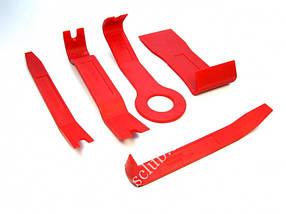 Съемник панелей облицовки, комплект 5 предметов (С-4073) Alloid.