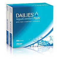 Контактные линзы Alcon Dailies AquaComfort Plus (-1.00) (180 штук)