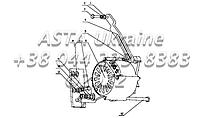 Зарядный генератор в сборе B7713-3701000