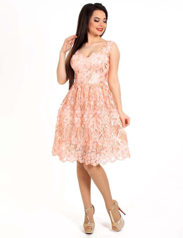 8a4fa3ccee6 Нарядное кружевное платье с пышной юбкой - Модный магазин в Киевской области