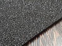 Резина набоечная каучуковая PURE RUBBER 300х300х6 мм цвет чёрный