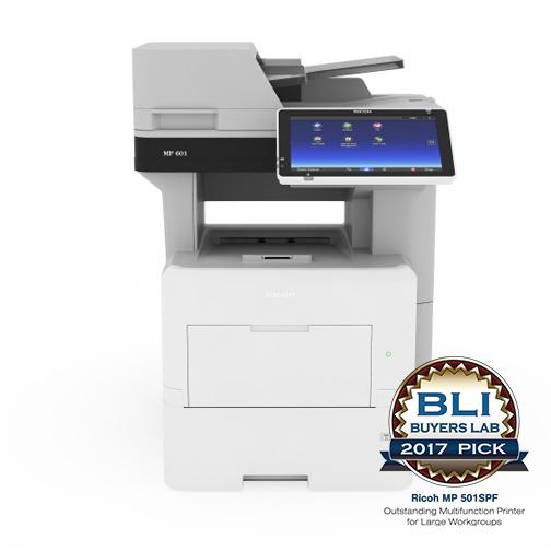МФУ Ricoh MP 601SPF ( А4, сетевой принтер, копир, сканер, факс, ARDF, дуплекс, smart панель )