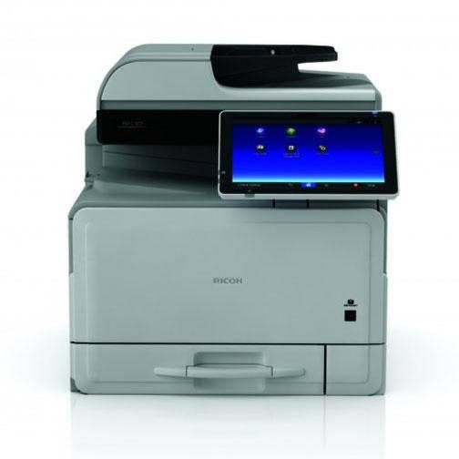 МФУ Ricoh MP C307SPF ( А4, полноцветный сетевой принтер, копир, сканер, факс, SPDF, дуплекс, smart панель )