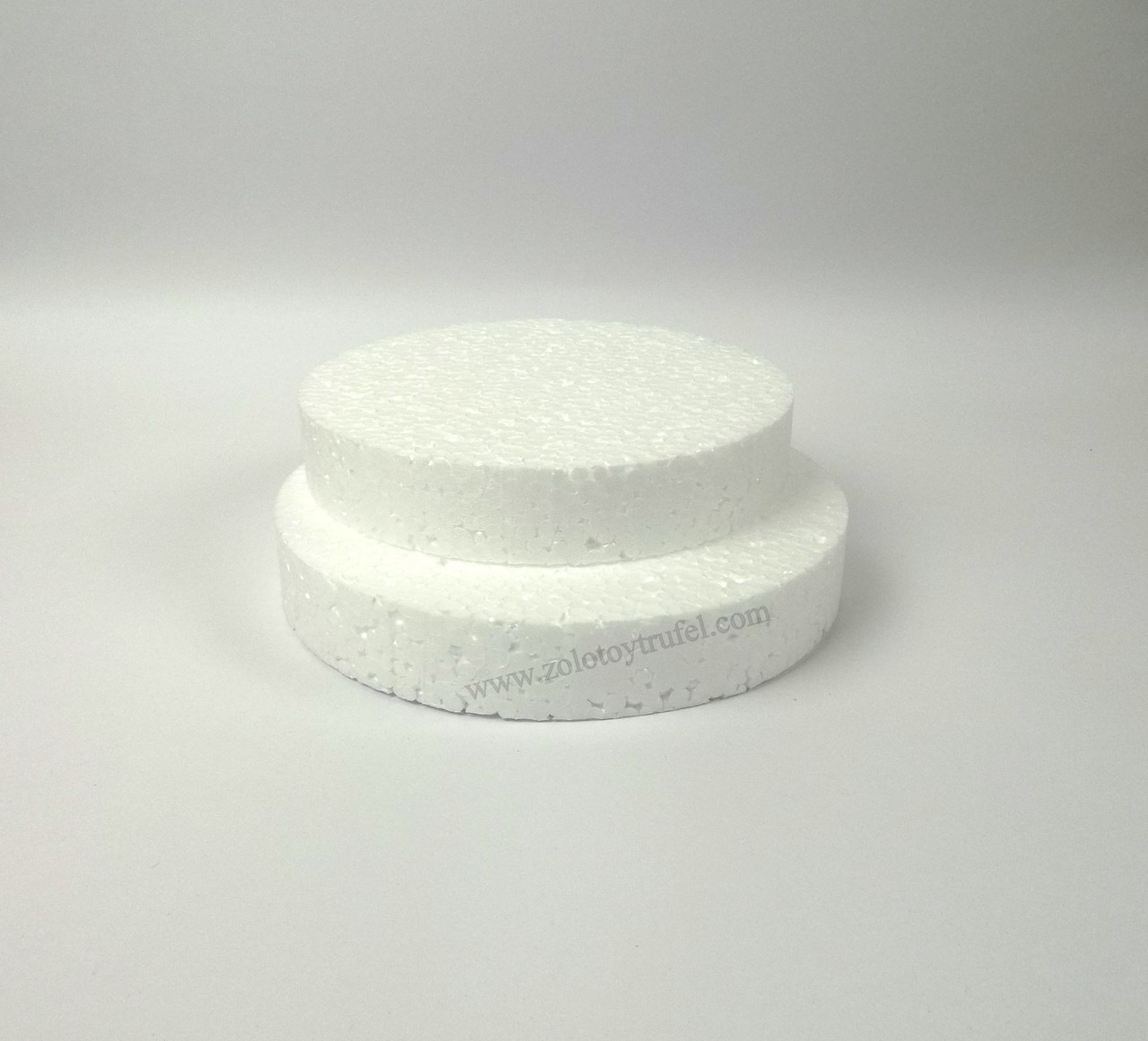 Прослойка пенопластовая для торта d 14 см h 3 см
