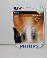 Лампа накаливания12v5w BA15s PHILIPS 2шт