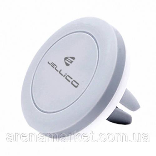 Автомобильный держатель Jellico H0-50 магнит - серо-белый