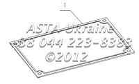 Табличка B7618-3904001, фото 1
