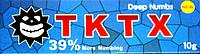 Крем анестетик TKTX 39% (Blue)10гр. Лидокаин 5%, Прилокаин 5%, Эпинефрин 1%