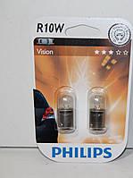 Лампа накаливания 12v10w BA15s  PHILIPS 2шт