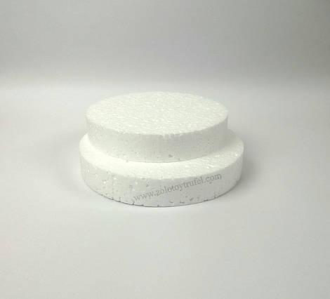 Прослойка пенопластовая для торта d 38 см h 3 см