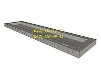 Железобетонные плиты покрытия ребристые  ПР 63.15-8, большой выбор ЖБИ. Доставка в любую точку Украины.