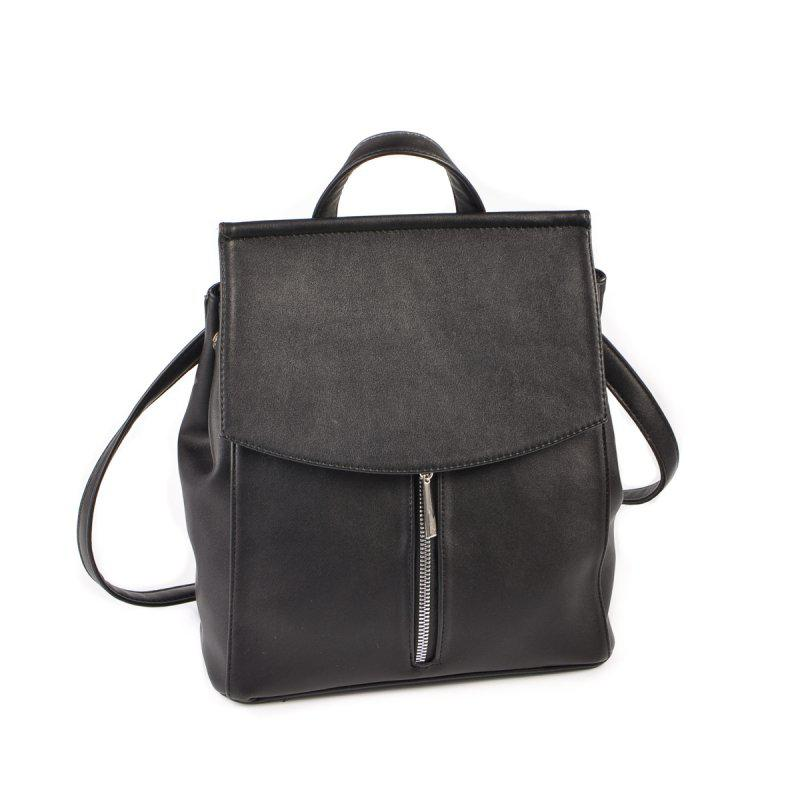 Жіночий рюкзак-трансформер чорний М159-48