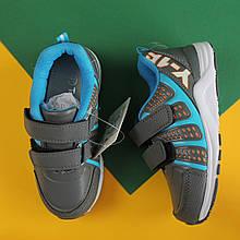 Детские серые кроссовки для мальчика Том.м р. 29,31,32