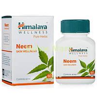 НИМ - Очиститель от паразитов. Neem. Himalaya. 60 таблеток(Бад)