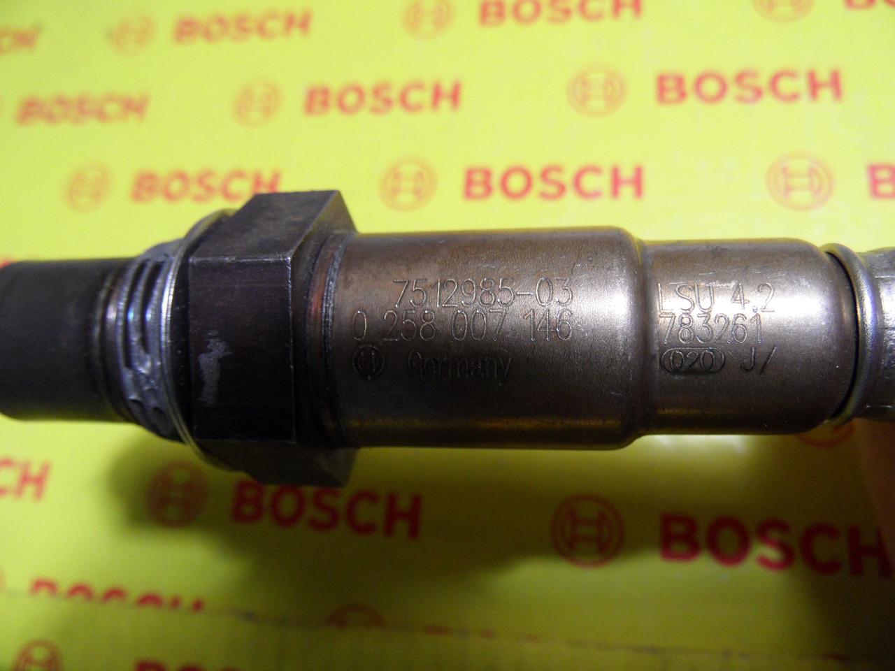 Лямбда-зонды Bosch, 11787512985,0 258 007 146, 0258007146, оригинал BMW