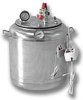 Автоклав бытовой электрический на 8 банок (нержавеющая сталь), фото 1