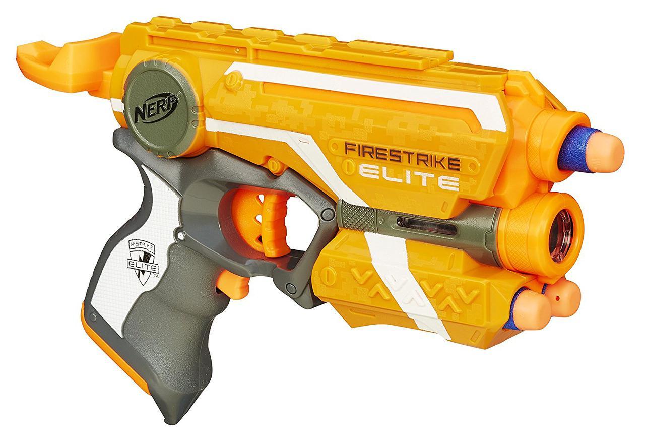 Уценка! Бластер Нерф Элит Файрстрайк с лазерным прицелом N-Strike Elite Firestrike Blaster