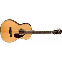 Электроакустическая гитара Fender PM-2 Standard Parlor NAT