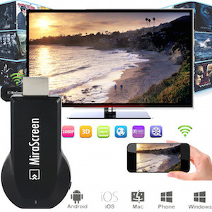 ТВ приставка Smart TV Mirascreen RK2928 Wi-Fi адаптер Dongle miracast, DLNA, Airplay