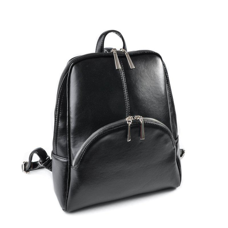 Женский рюкзак кожзам черный М134-Z, цена 545 грн., купить в Киеве ... c371352f4e3