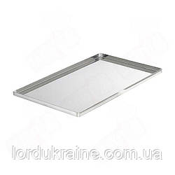 Противень пекарский алюминиевый 460х330х20 мм
