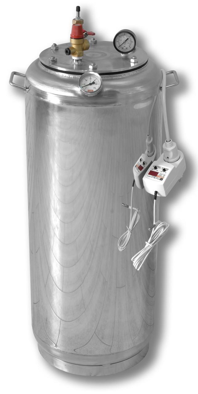 Автоклав бытовой электрический на 40 банок(нержавеющая сталь)
