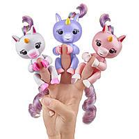 Единорог интерактивный на пальчик , WowWee Fingerlings Baby Unicorn Оригинал из США, фото 1