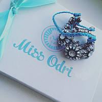 Браслет Shourouk Luxury Blue
