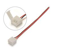 Коннектор 2 pin 10 мм для LED ленты с 1 соединением, фото 1
