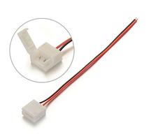 Коннектор 2 pin 10 мм для LED ленты с 1 соединением