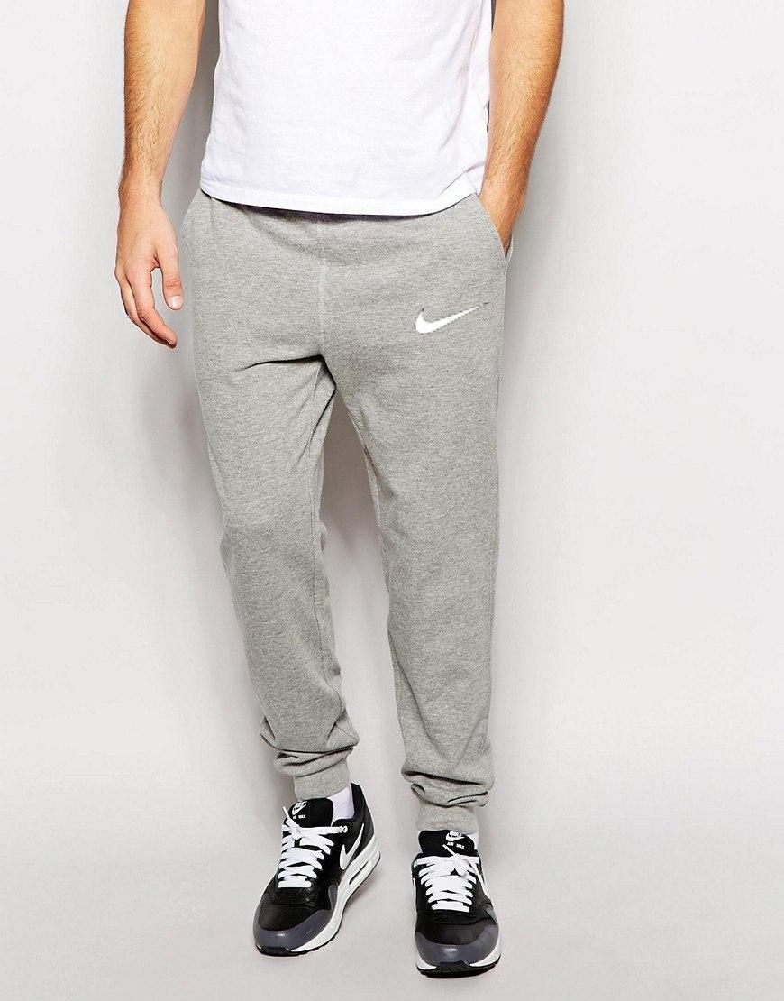 b82ef454 Трикотажные спортивные штаны Nike Найк серые (РЕПЛИКА), цена 330 грн.,  купить в Харькове — Prom.ua (ID#694821057)