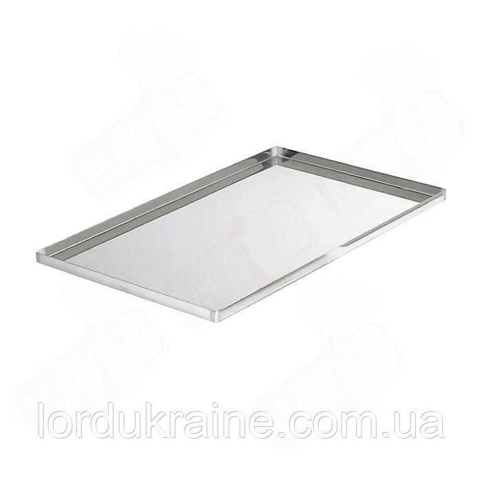 Противень пекарский алюминиевый 440х350х20 мм