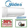 Кондиционер Midea MA-12H1DO-I/MA-12N1DO-O BLANC 2018 DC Inverter (Мидеа)