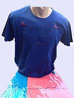 Мужская футболка с 3D буквами