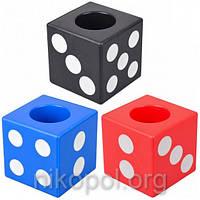 "Стакан для ручек ""Кубик 302"" 7,5х7,5х7,5см, фото 1"