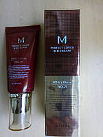 ВВ-крем номер 1 MISSHA M Perfect Cover BB Cream (SPF42/PA+++) 50ml #21 Light Beige