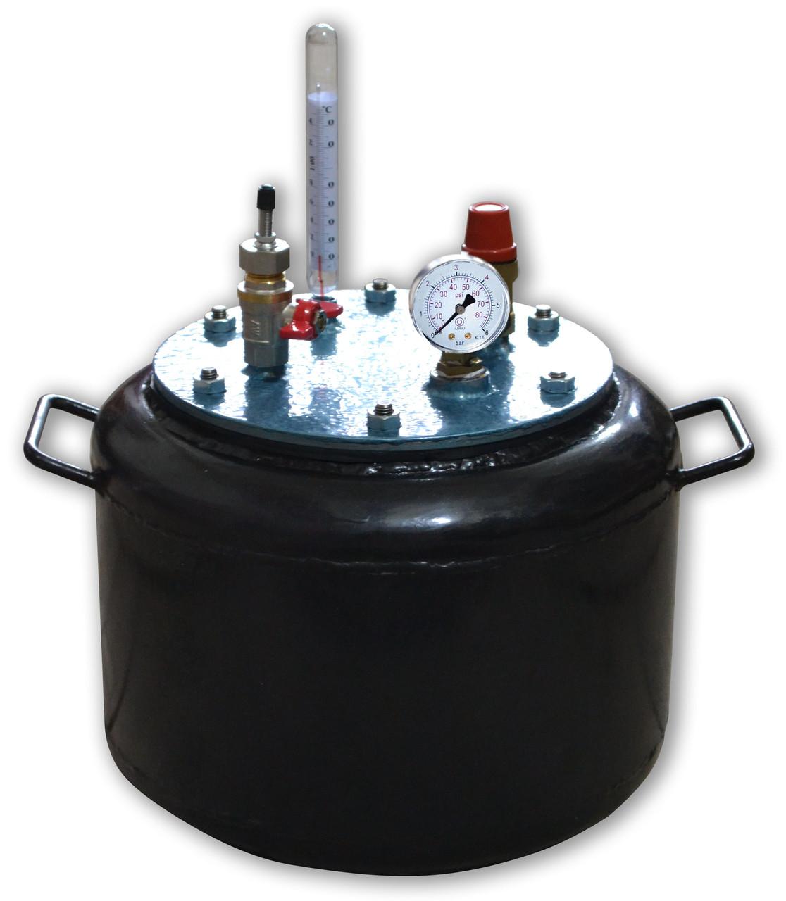 Автоклав бытовой на 8 банок (сталь)