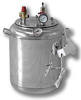 Автоклав бытовой электрический на 16 банок, нержавеющая сталь домашний для консервирования, фото 1