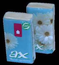 Хустинки паперові Ах, Ромашка, з запахом, 10 шт