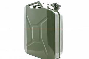Канистра для бензина металлическая Elegant 20 л, фото 2