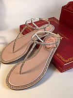 Утонченные кожаные сандалии RENE CAOVILLA , фото 1