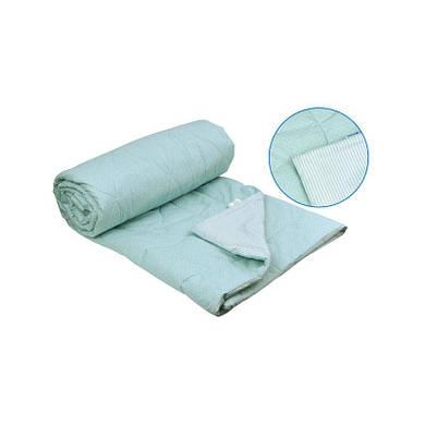 Хлопковое одеяло голубое 200х220 см (322.02ХБУ_Блакитний)